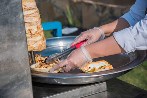 Weekend Shawarma Station for 60 Persons
