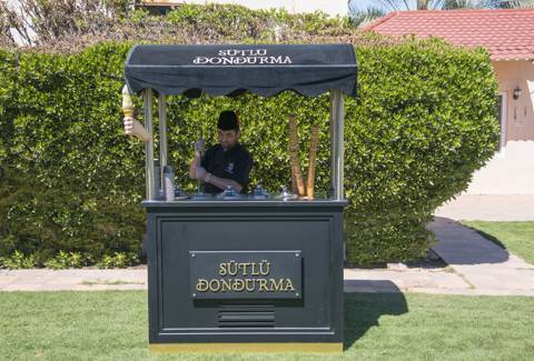Ice Cream Station for 50-100 Persons